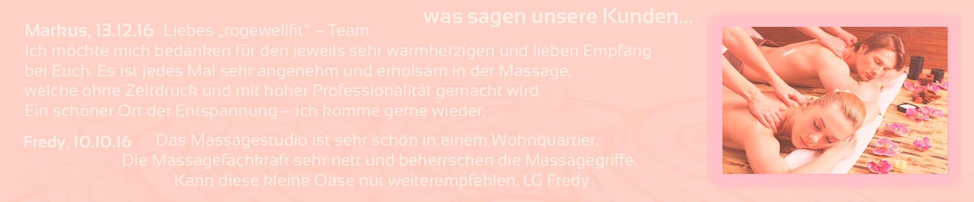 Massagen, Spa Wellness & Massagelounge